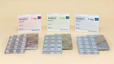 اقراص اماريل لتخفيض نسبة السكر فى الدم من النوع الثاني