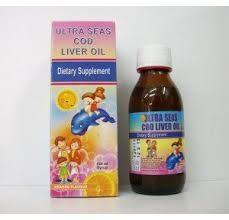 الترا سيز شراب مكمل غذائي للأطفال من زيت كبد الحوت