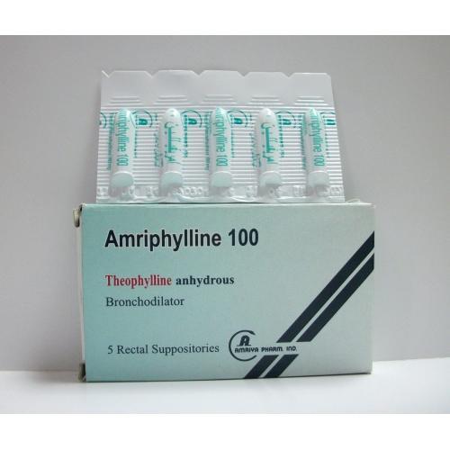 دواء امريفيلين مضاد للالتهاب ويخفف تقلص عضلات القصبات الملساء