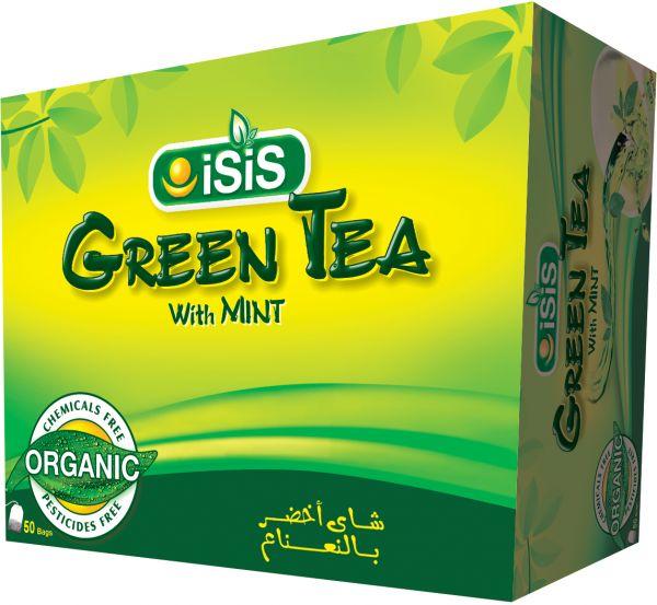 شاي ايزيس الاخضر بالنعناع يساعد فى التخسيس وانقاص الوزن