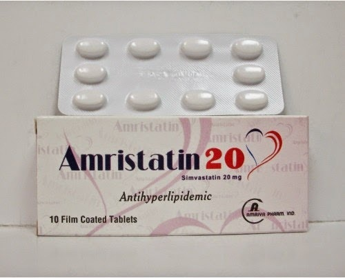 علاج امريستاتين اقراص لتقليل نسبة الكوليسترول والوقاية من الامراض القلبيه
