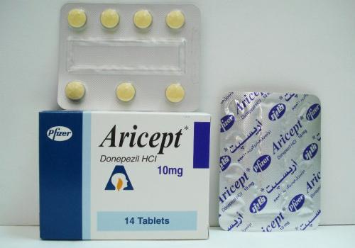 اقراص اريسيبت لعلاج مرض الزهايمر وضعف الادراك والذاكره Aricept Tablets