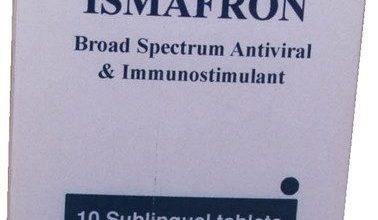 دواء اسمافرون لعلاج الأمراض الفيروسية وعلاج فيروس سى
