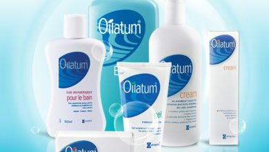 صابون وكريم اويلاتوم OILATUM يستعمل للجلد الجاف والحساس والتهاب الجلد