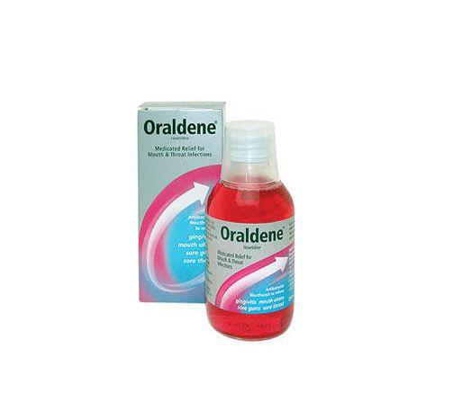 مضمضة اورالدين Oraldene غسول فم لعلاج التهابات اللثة والفم والحلق روشتة