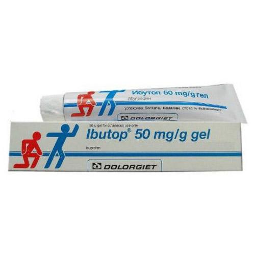 جيل ايبوتوب Ibutop Gel مسكن للألم ولعلاج بعض حالات الالتهاب