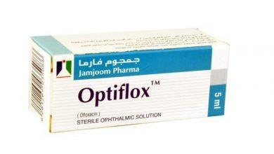 اوبتيفلوكس محلول معقم للعين للقضاء على البكتيريا التى تصيب العين