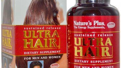 حبوب الترا هير لتقوية بصيلات الشعر والاظافر للنساء والرجال UltraHair