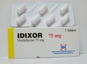 اقراص ايدكسور لعلاج الاكتئاب والهلع والرهاب الاجتماعي والامراض النفسية idixor
