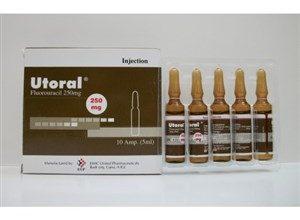 امبول يوتورال لعلاج السرطان الغدي في القولون والمستقيم الجهازية utoral