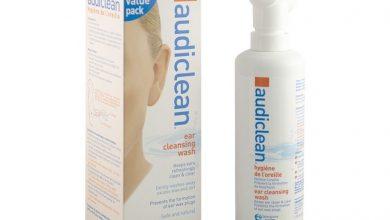 محلول الاذن اوديكلين لتنظيف وتطهير الاذن وإزالة الشمع الزائد AudiClean