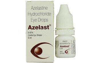 قطرة عين ازيلاست مضادة للحساسية لعلاج الرمد والتهابات العين Azelast