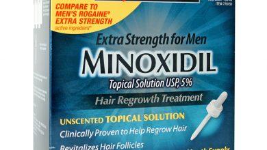 دواء مينوكسيديل لعلاج مشاكل الشعر الصلع الوراثي وتساقط الشعر Minoxidil