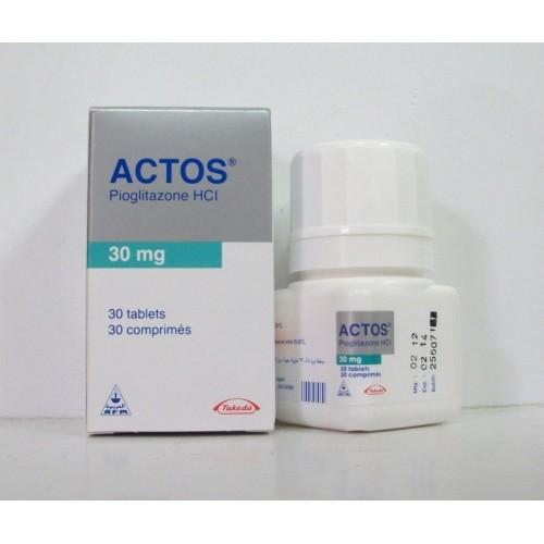 حبوب اكتوس لعلاج امراض السكر وعلاج مرض السكري 2 Actos