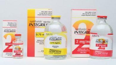 حقن انتيجريلين مذيب لجلطات الدم وعلاج متلازمة الشريان التاجي Integrilin