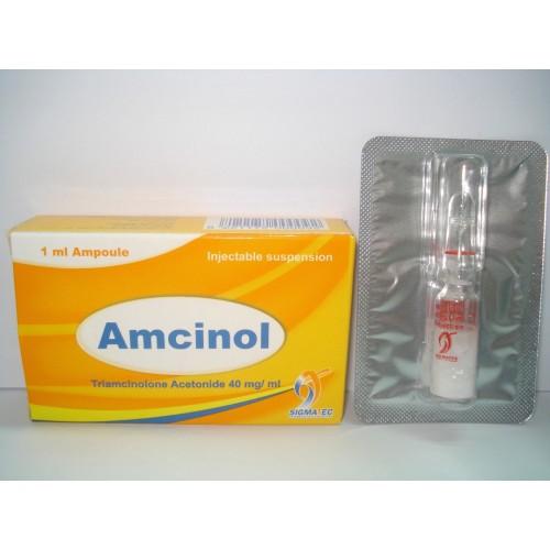 حقن امسينول امبولات مضاد للحساسية لعلاج ألم المفاصل والتورم Amcinol