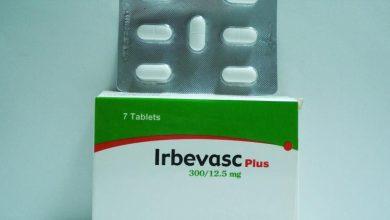 اقراص اربيفاسك بلس دواء لعلاج ارتفاع ضغط الدم Irbevasc Plus
