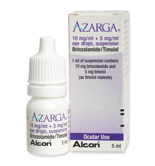 قطرة عين ازارقا لعلاج ضغط العين المرتفع أو الجلوكوما Azarga