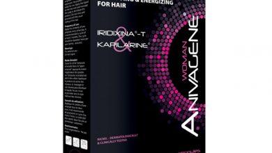 امبولات انيفاجين لعلاج تساقط الشعر للرجال والنساء لجميع انواع الشعر