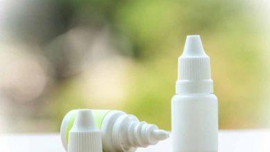 قطرة عين اوبتيك سالين نقط لعلاج تورم القرنية optic saline
