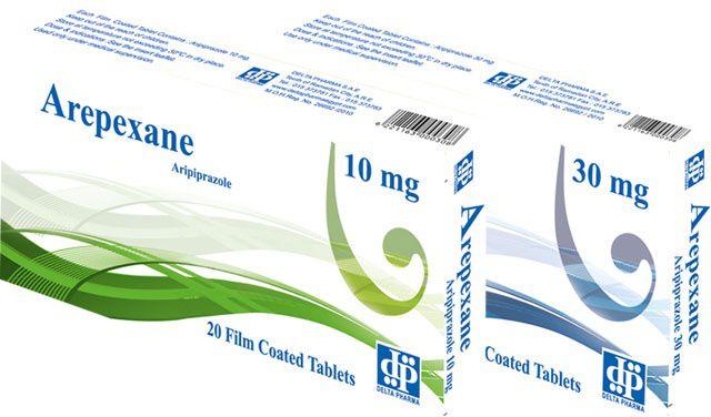 اقراص اربيكسان لعلاج الاكتئاب وانفصام الشخصية والتهيج المرتبط بالتوحد Arepexane