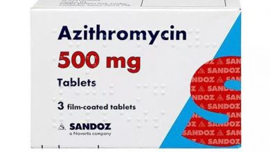 صورة اقراص ازيثروميسين مضاد حيوي لعلاج التهاب الأذن الوسطى والبلعوم Azithromycin