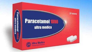دواء باراسيتامول لعلاج الصداع والام العضلات والتهاب المفاصل والأسنان Paracetamol