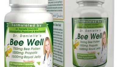 كبسولات بي ويل غذاء ملكات النحل لعلاج سوء التغذية B-Well