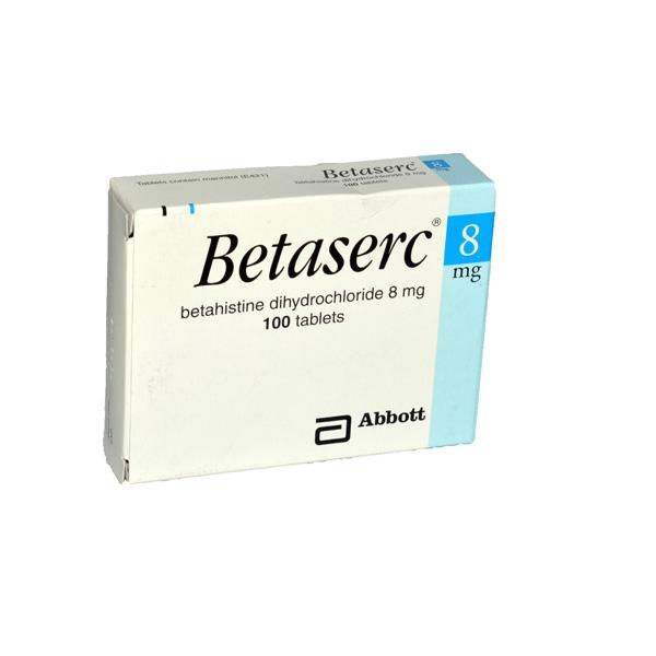 اقراص بيتاسيرك حبوب لعلاج الدوار الناتج عن مرض مينير Betaserc روشتة