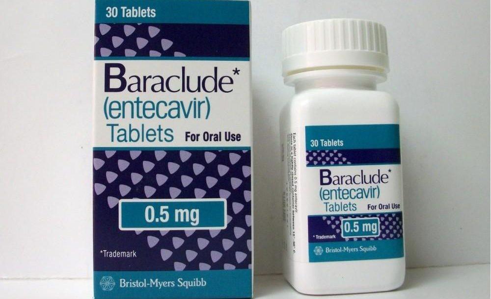اقراص باراكلود لعلاج التهاب الكبد الوبائي المزمن النوع ب Baraclude