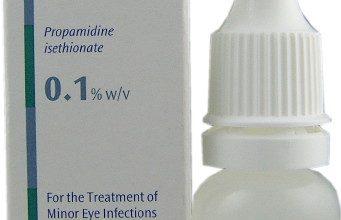 قطرة عين برولين مضاد للبكتيريا يستخدم لعلاج عدوى العين Brolene