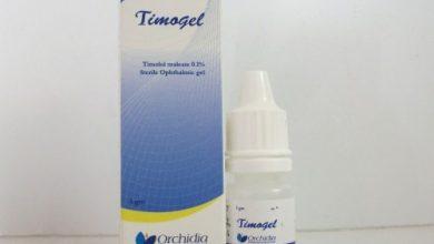 نقط تيموجيل لعلاج الزرق و ارتفاع ضغط العين والجلوكوما Timogel