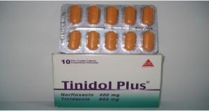 اقراص تينيدول بلس لعلاج الاسهال والدوستناريا