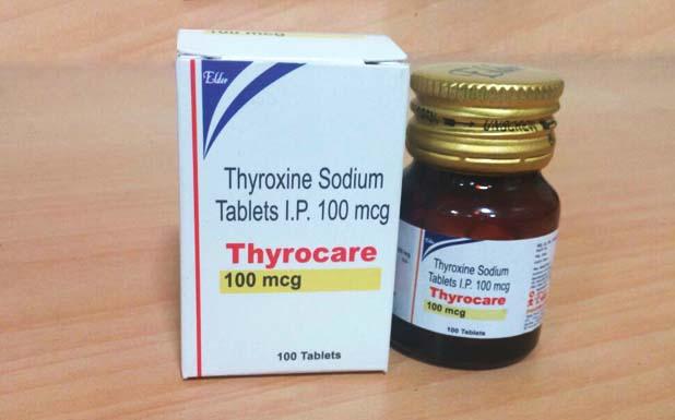 اقراص ثيروكسين لعلاج قصور الغدة الدرقية Thyroxin