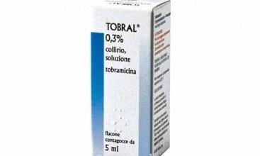 قطرة توبرال لعلاج التهابات العين وعلاج قرحة القرنية والالتهابات السطحية
