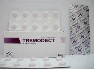 اقراص تريموديكت لعلاج الشلل الرعاش وتململ الساقين Tremodect