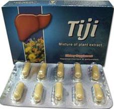 كبسولات تيجي لعلاج الالتهاب الكبدي الوبائي وسرطان خلايا الكبد Tiji