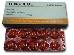 اقراص تينسولول لعلاج ارتفاع ضغط الدم و الذبحة الصدرية Tensolol