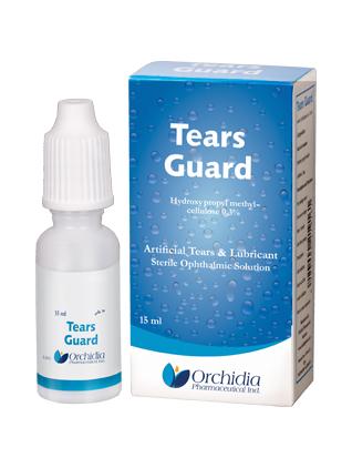 قطرة تيرز جارد لعلاج اضطرابات العين والتهاب القرنية Tears Guard