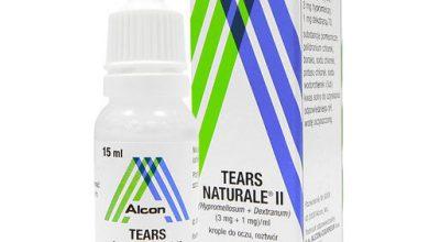 قطرة تيرز ناتورال لعلاج جفاف العين و ترطيبها Tears Naturale
