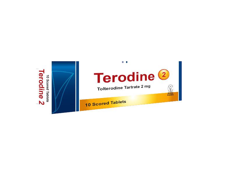 اقراص تيرودين لعلاج التبول اللاإرادى عند الاطفال Terodine
