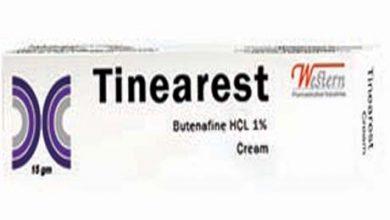 كريم تينياريست لعلاج فطريات الجلد التينيا او السعفة Tinearest