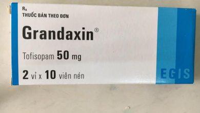 اقراص جرانداكسين لعلاج الاكتئاب وضغوط ما بعد الصدمة Grandaxin