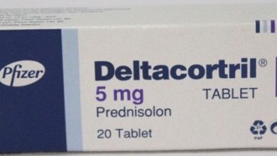 اقراص ديلتاكورتريل لعلاج تفاعلات الحساسية والتهاب المفاصل ومشاكل التنفس Deltacortril