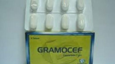 اقراص جراموسيف لعلاج التهاب اللوزتين والتهابات الاذن الوسطى Gramocef
