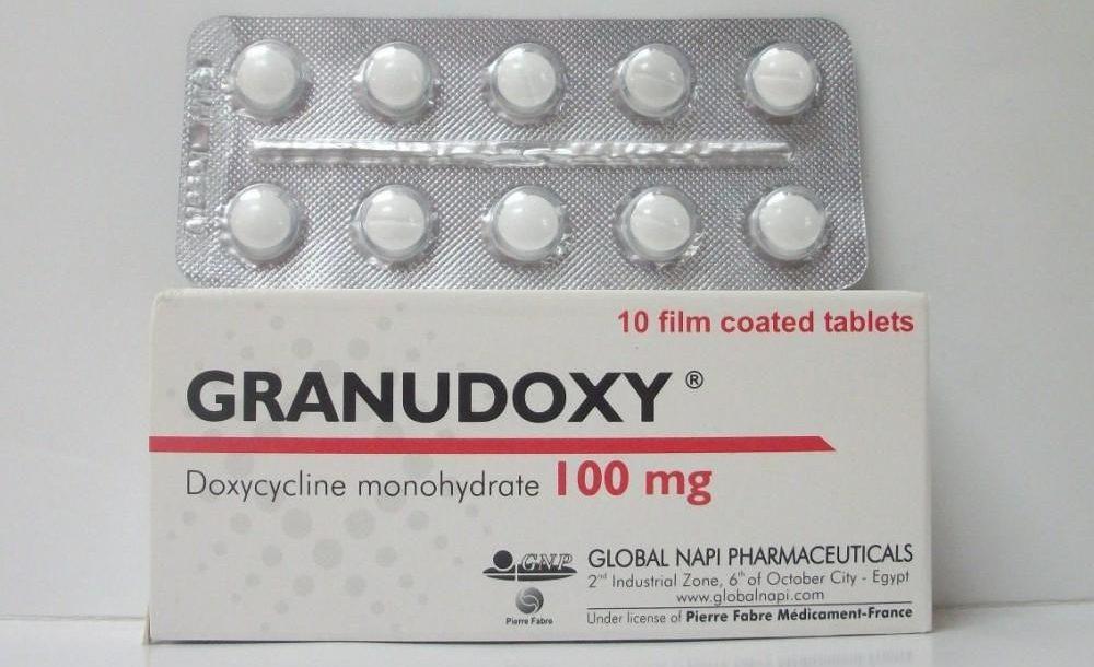 اقراص جرانودوكسي لعلاج حب الشباب ومرض التهاب الحوض Granudoxy