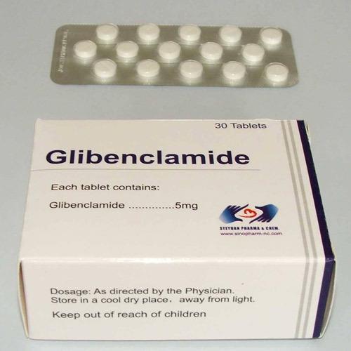 اقراص جليبنكلاميد لعلاج مرض السكري من النوع الثاني Glibenclamide