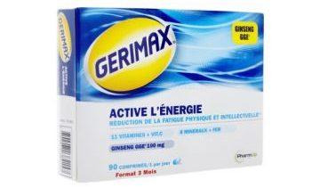 اقراص جيريماكس مكمل غذائي للحفاظ على التركيز والادراك والطاقة Gerimax