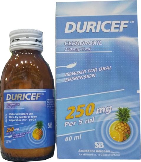دواء ديوريسف مضاد حيوي للعلاج والوقايه من عدوى الانف والاذن والحنجرة Duricef