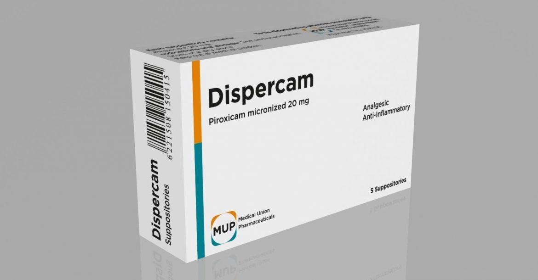 دواء ديسبيركام لتخفيف اعراض هشاشة العظام والتهاب المفاصل الروماتويدي Dispercam